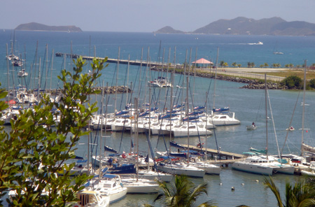 The Moorings Base in Road Harbor, BVI
